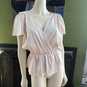 Moda white blouse by Victoria's Secret